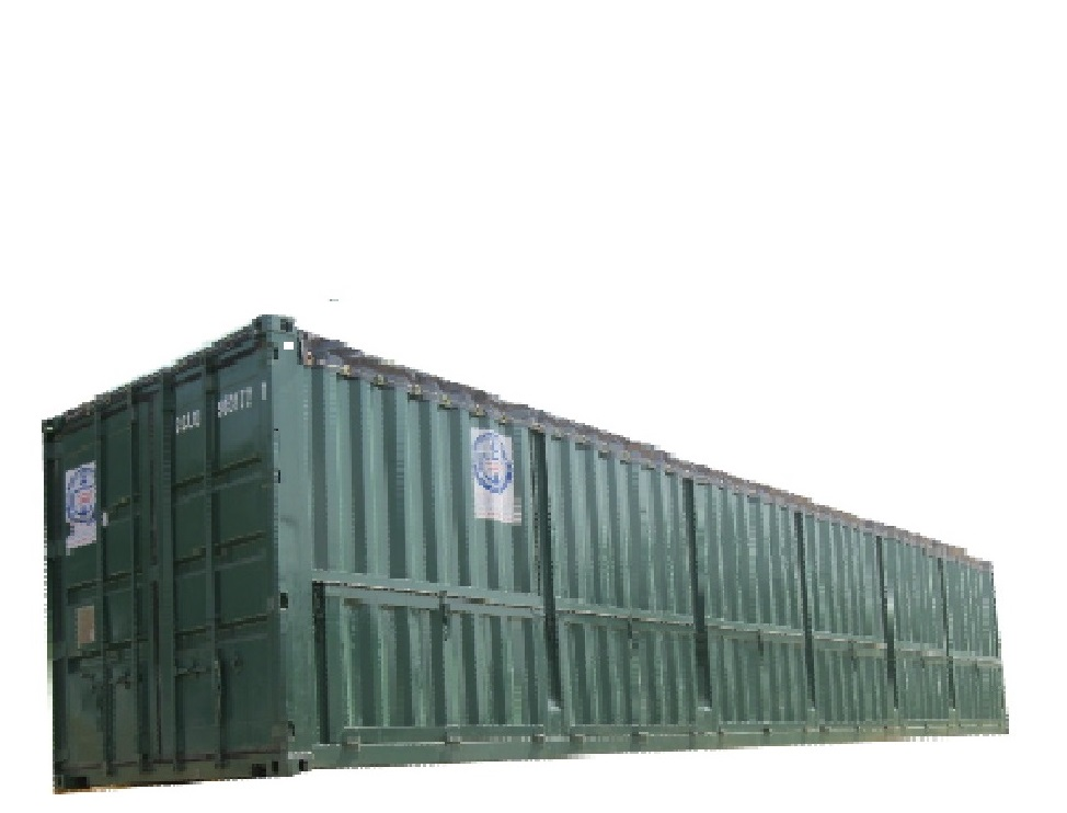 Container Open Top 40 feet mở 6 cửa nằm