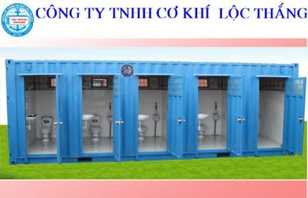 Container Tolet 20 feet 5 ngăn Hình mẫu 2