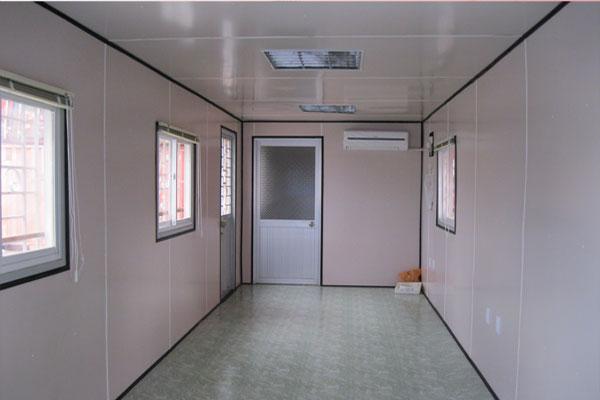 Nội thất Cont văn phòng 40 feet tolet