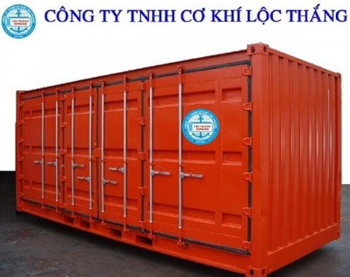 Container open side 40feet 4 bộ cửa