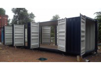 Container open side 40 feet 8 bộ cửa