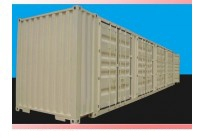 Container 0pen side 45 feet  4 bộ cửa