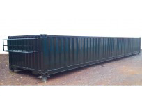 Container Open top half height 40 feet